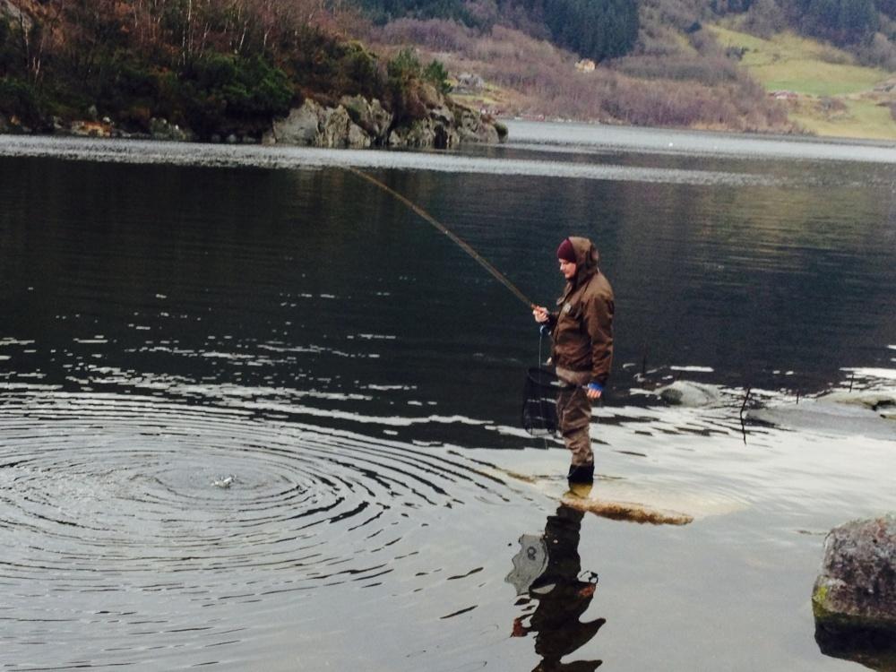 broderen har fisk igjen;)